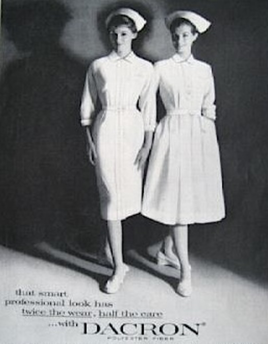Looking Fashionable in All-White Nursing Uniforms