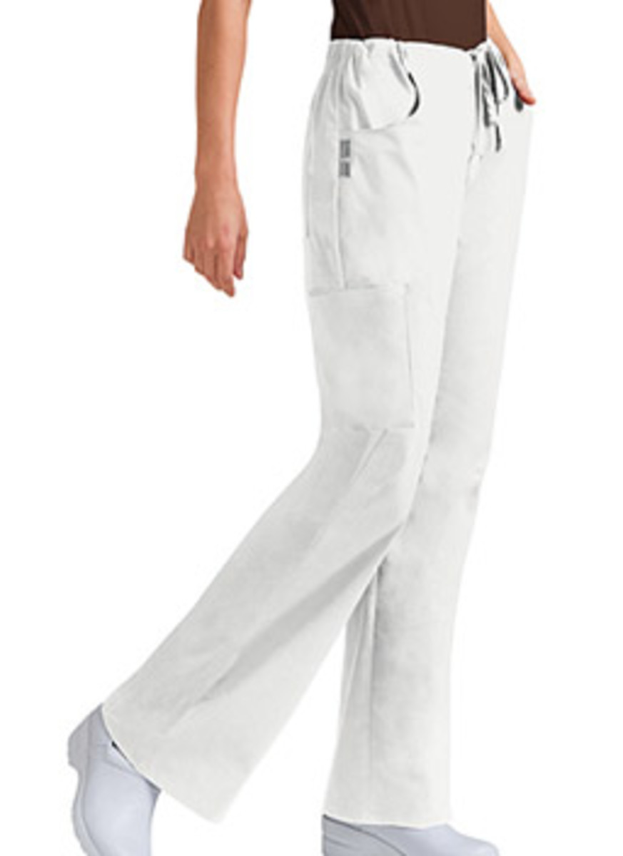 5-pocket drawstring Cherokee scrub pants