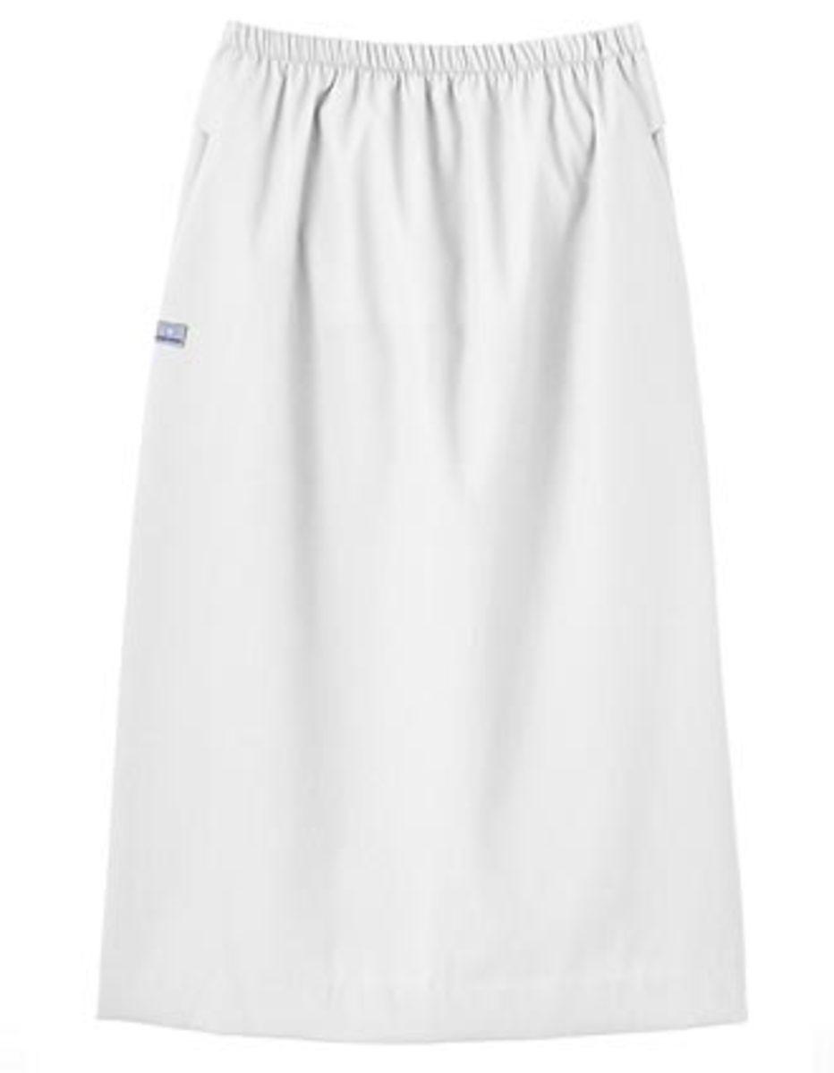 White Swan Fundamentals elastic waist skirt
