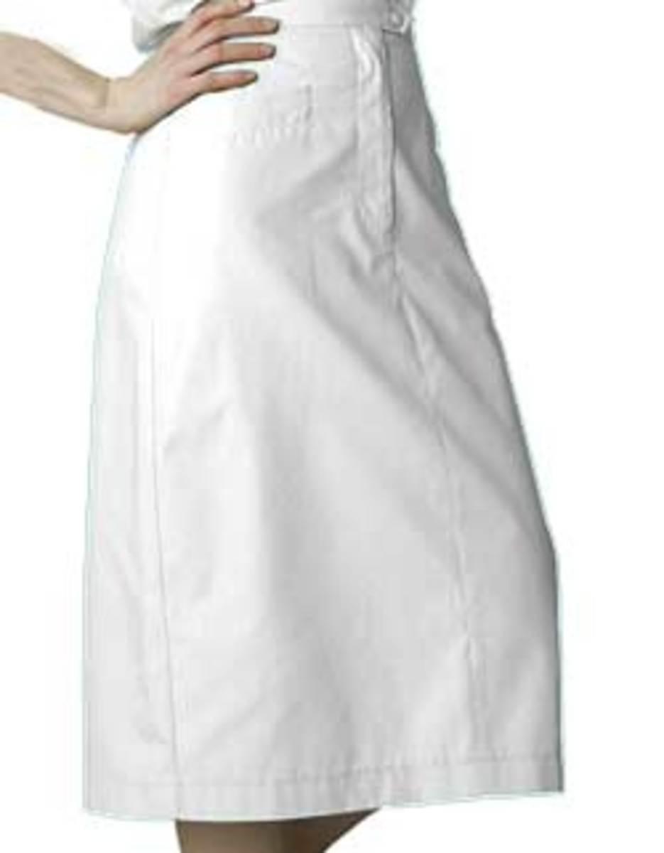 Mid-calf length skirt from Adar