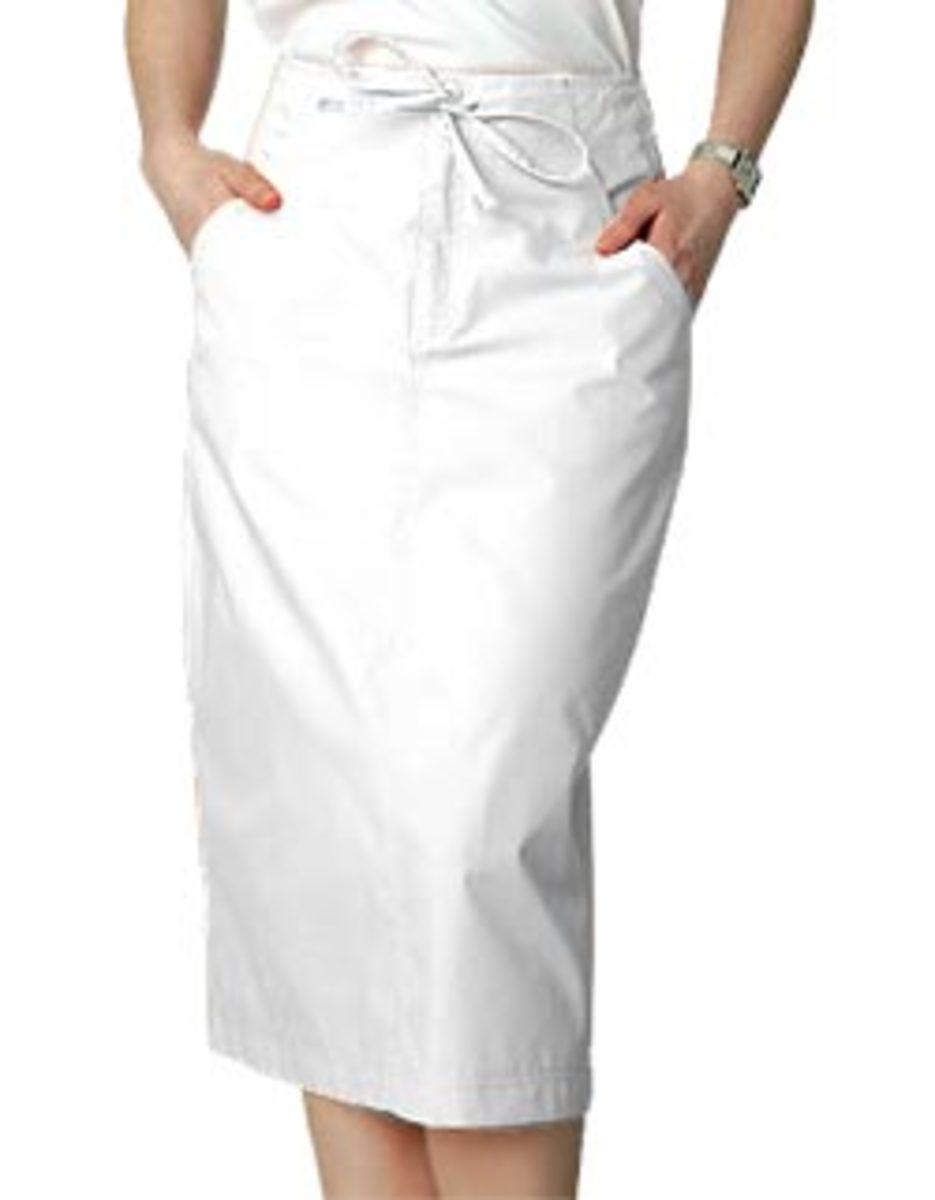 Mid-calf drawstring skirt from Adar