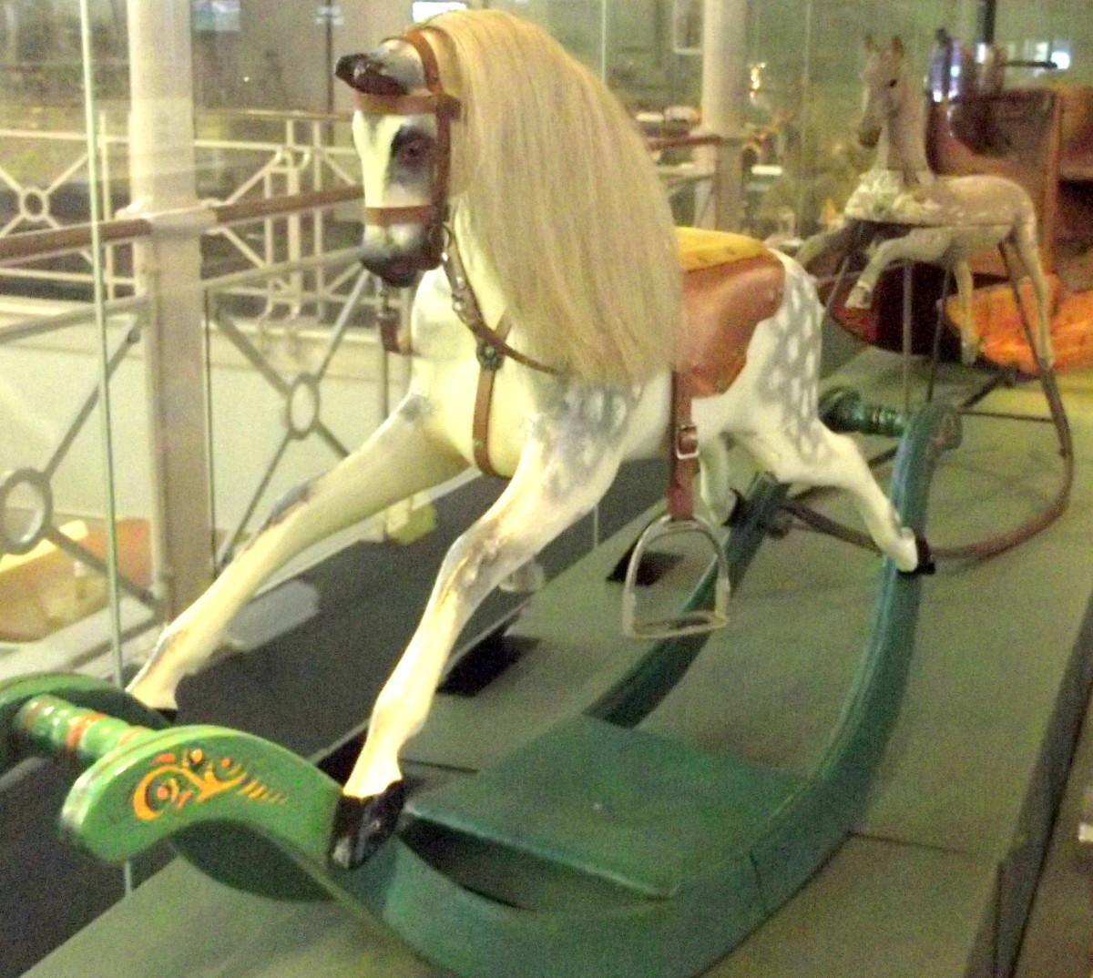 Victorian Toy Rocking Horse