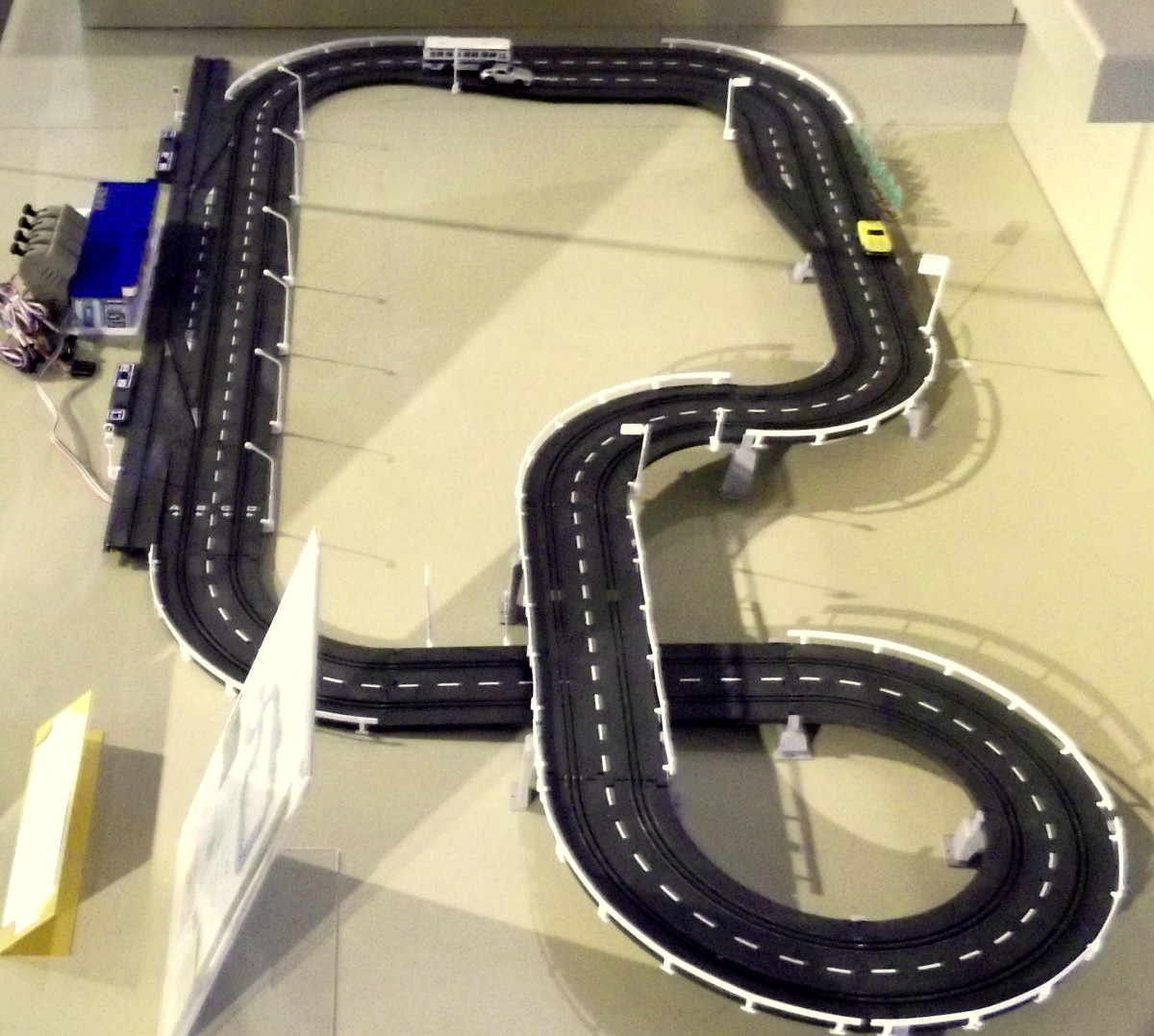 Scalectrix Car Race Track