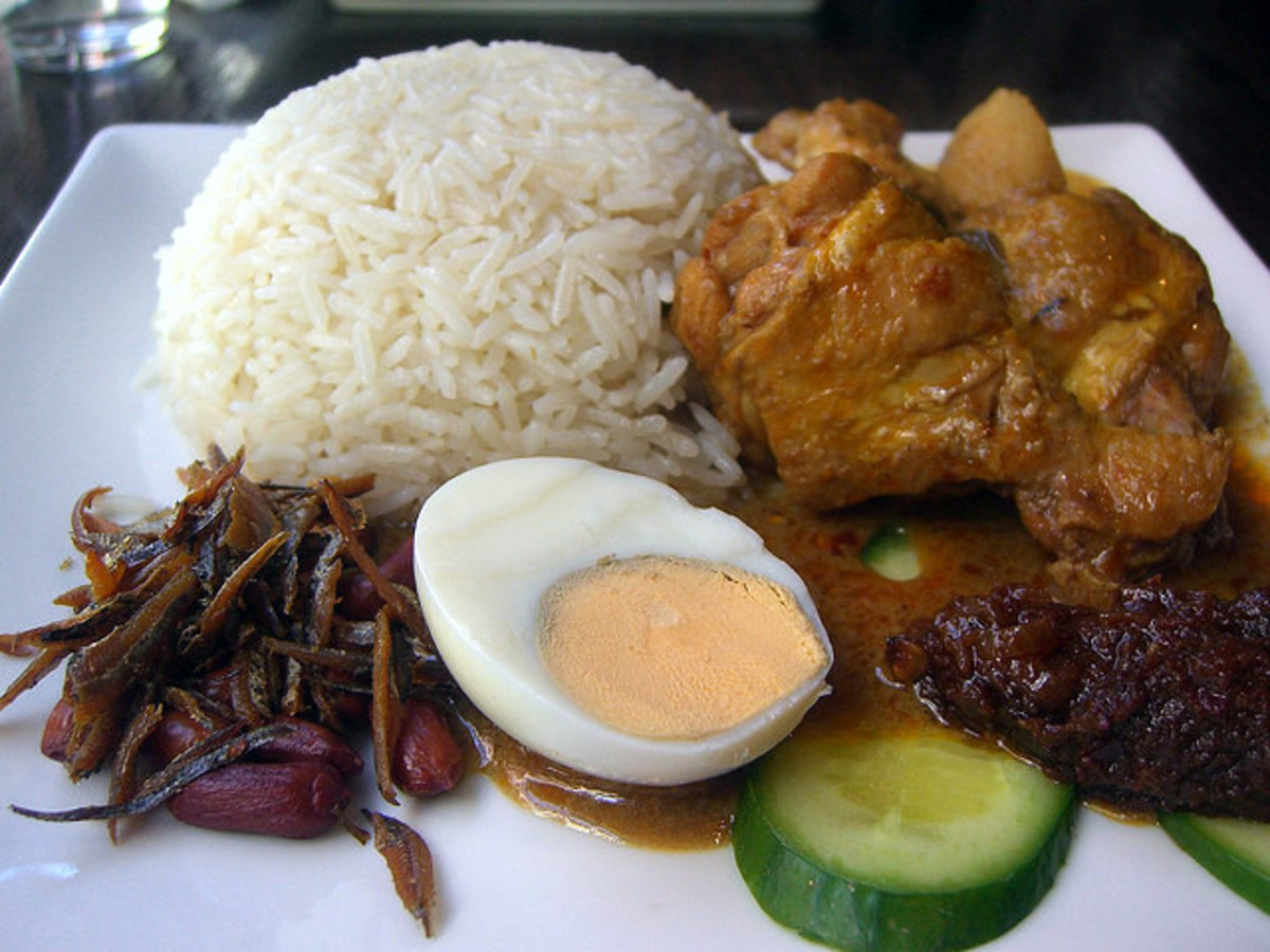 Travel Abroad Tips and Advice - Be careful where and what you eat, when traveling overseas.