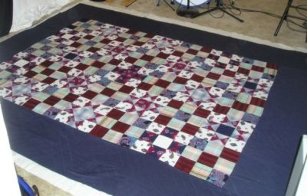 Massive Queen-Sized Memory Quilt