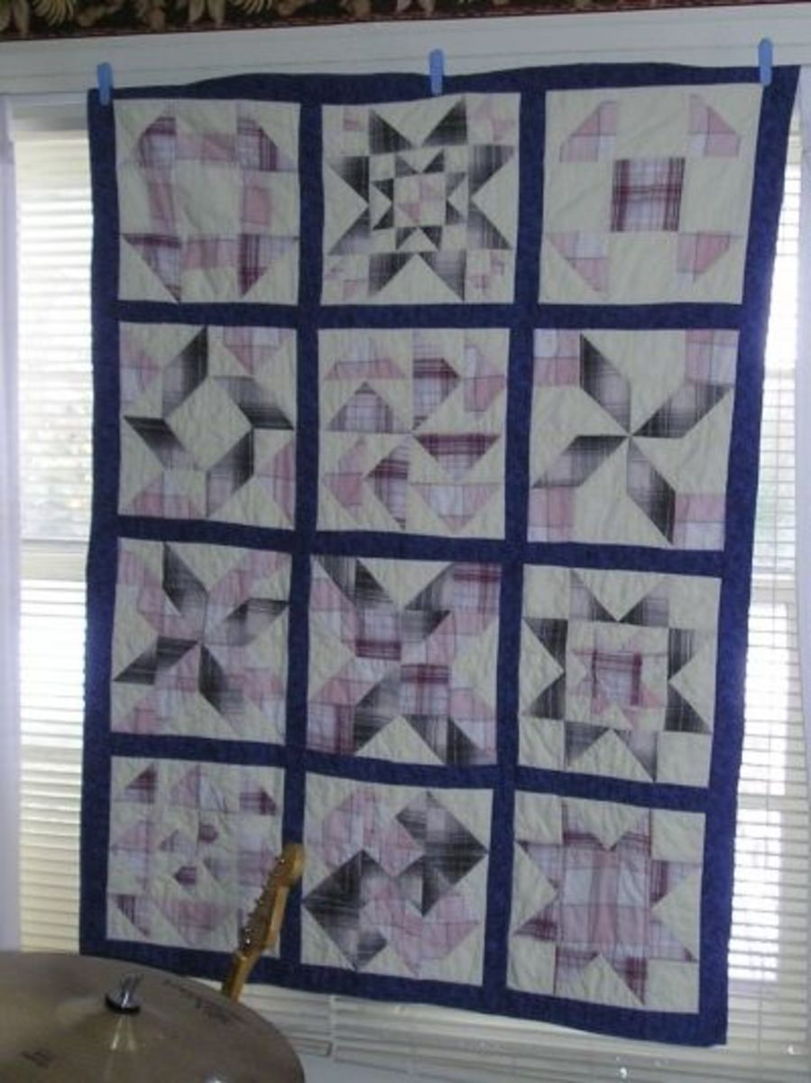 how to make a memory quilt with photos