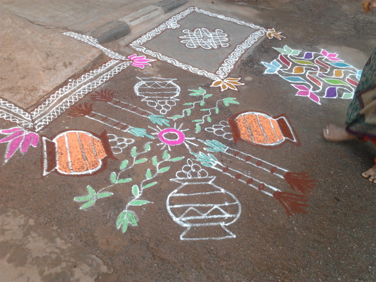 Rangolis-Traditional Art Designs To Decorate The Indian Home