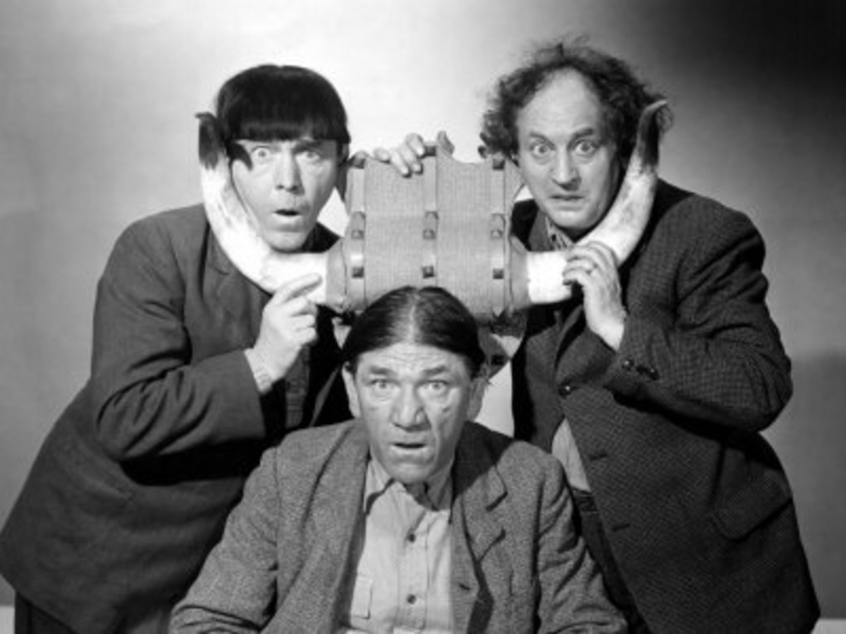 The Three Stooges, or was it 8 Stooges?