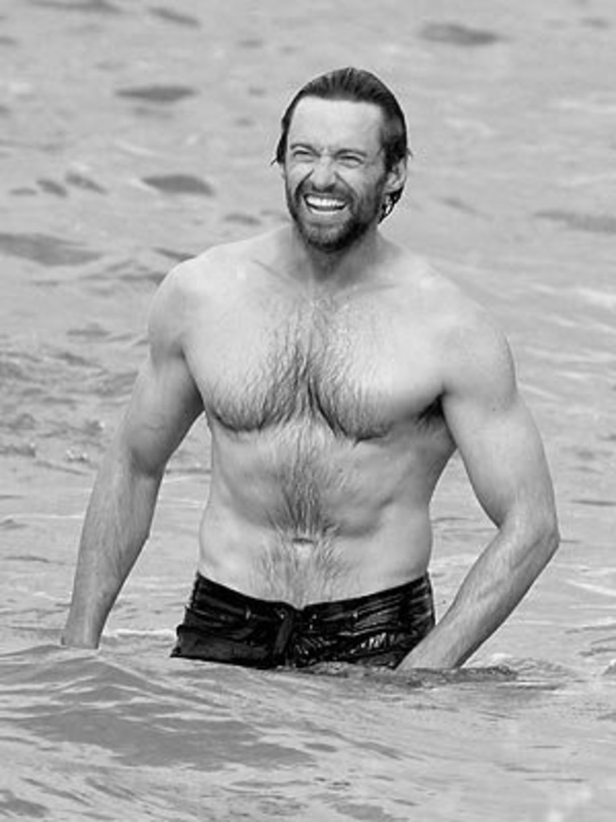 Who better to vouch for the fact that women like chest hair on men than Hugh Jackman himself? Are we taking notes here, guys?
