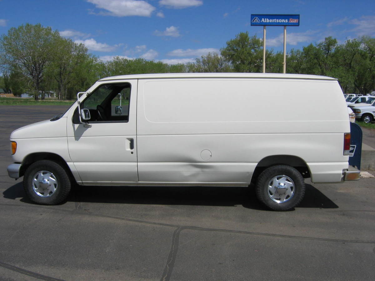 the white van, which carried the speaker