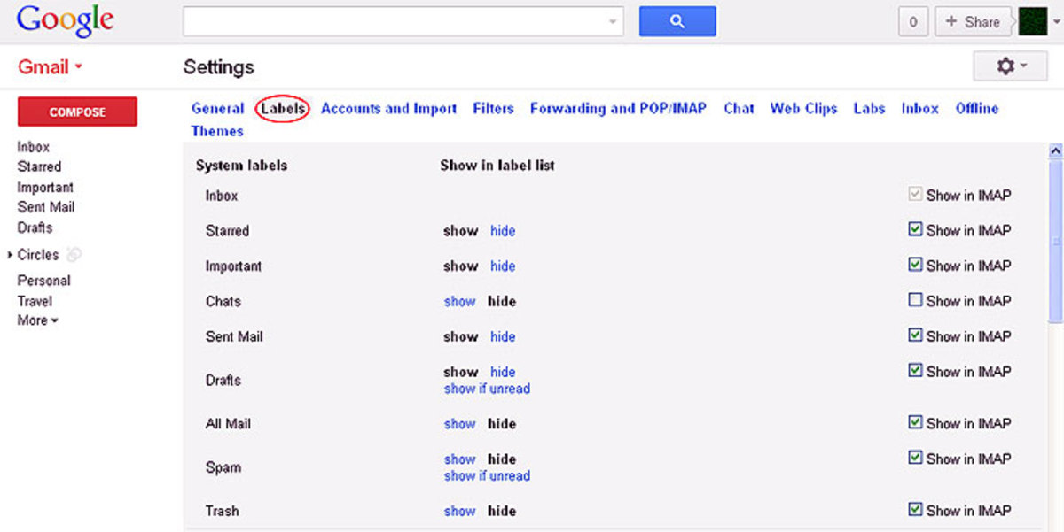 how to make a new folder in gmail