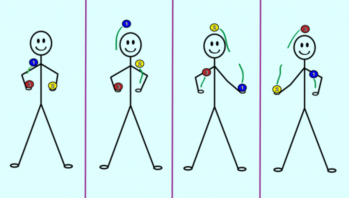 How to juggle 3 balls