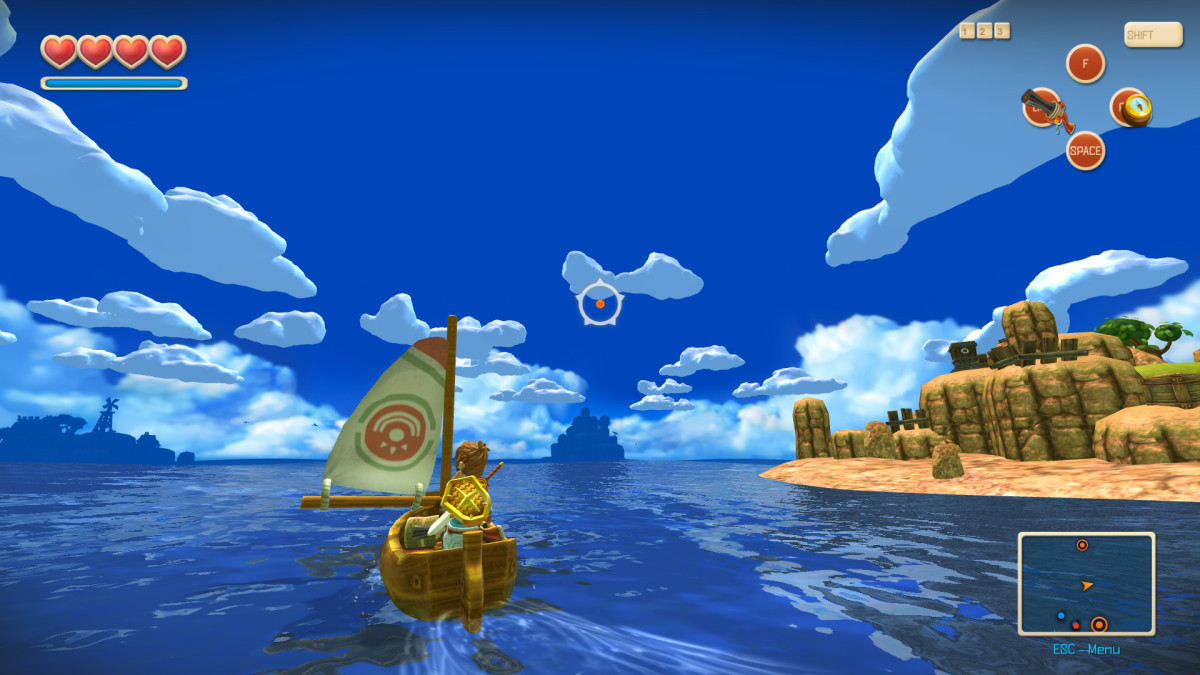 Oceanhorn Gameplay