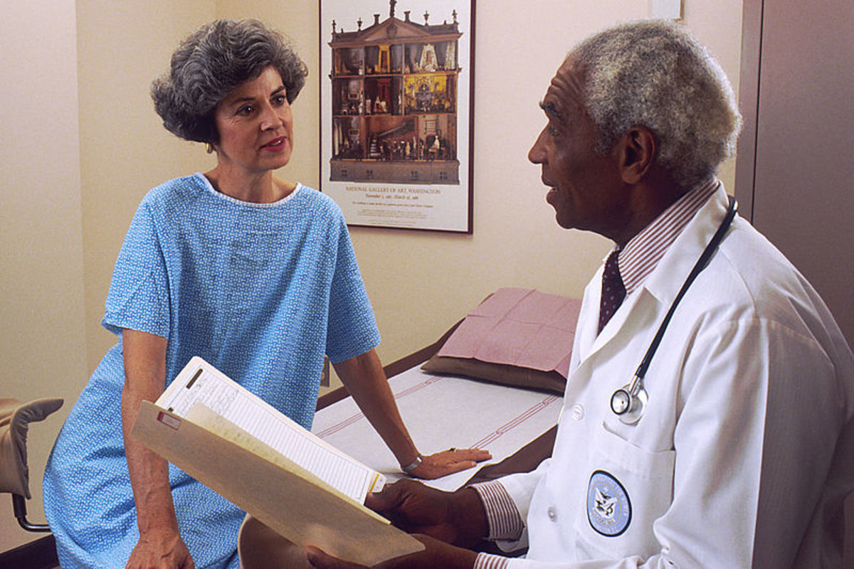 Referred to consulting another physician