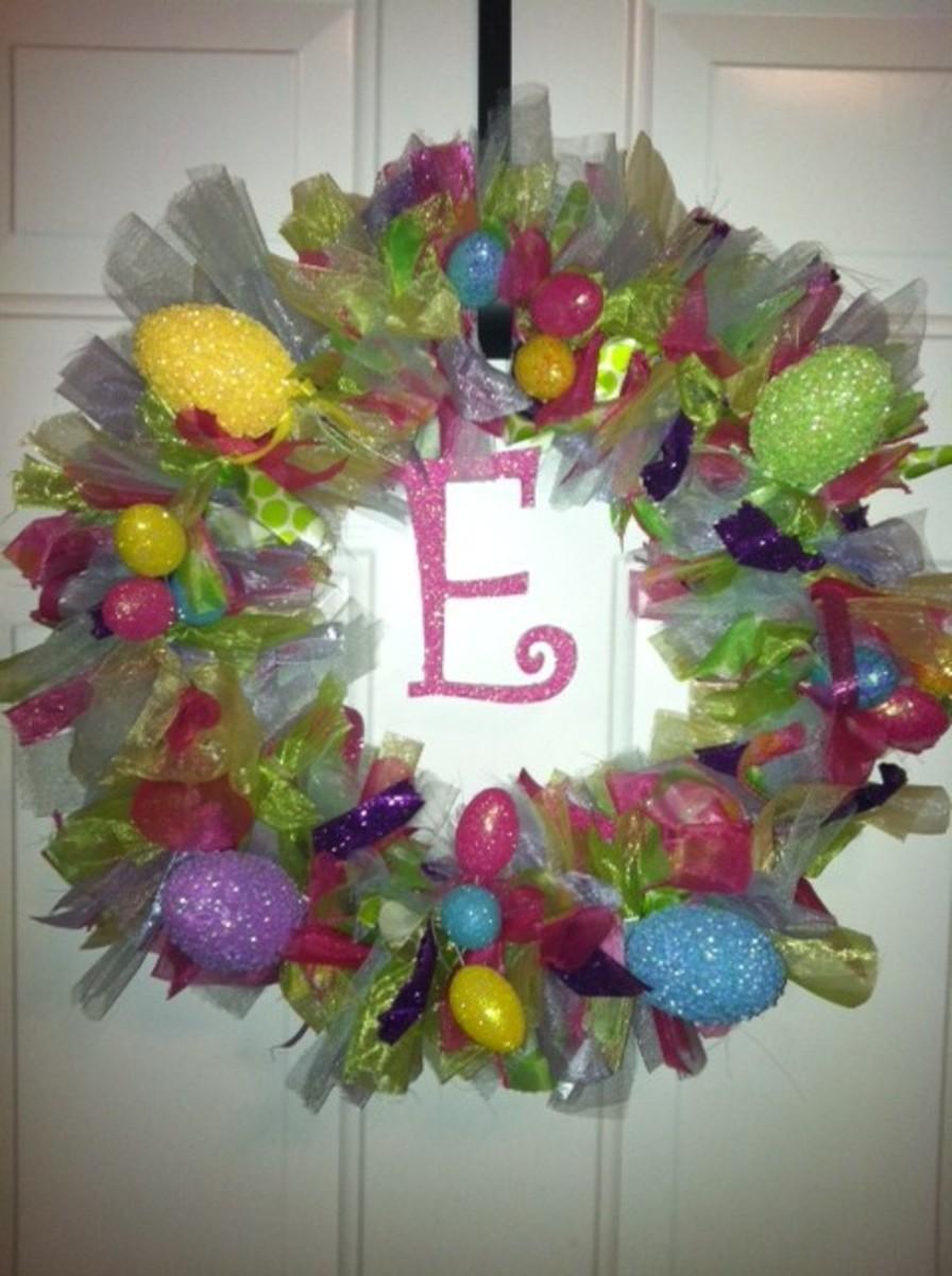 Easter Door Hanger Dollar Tree