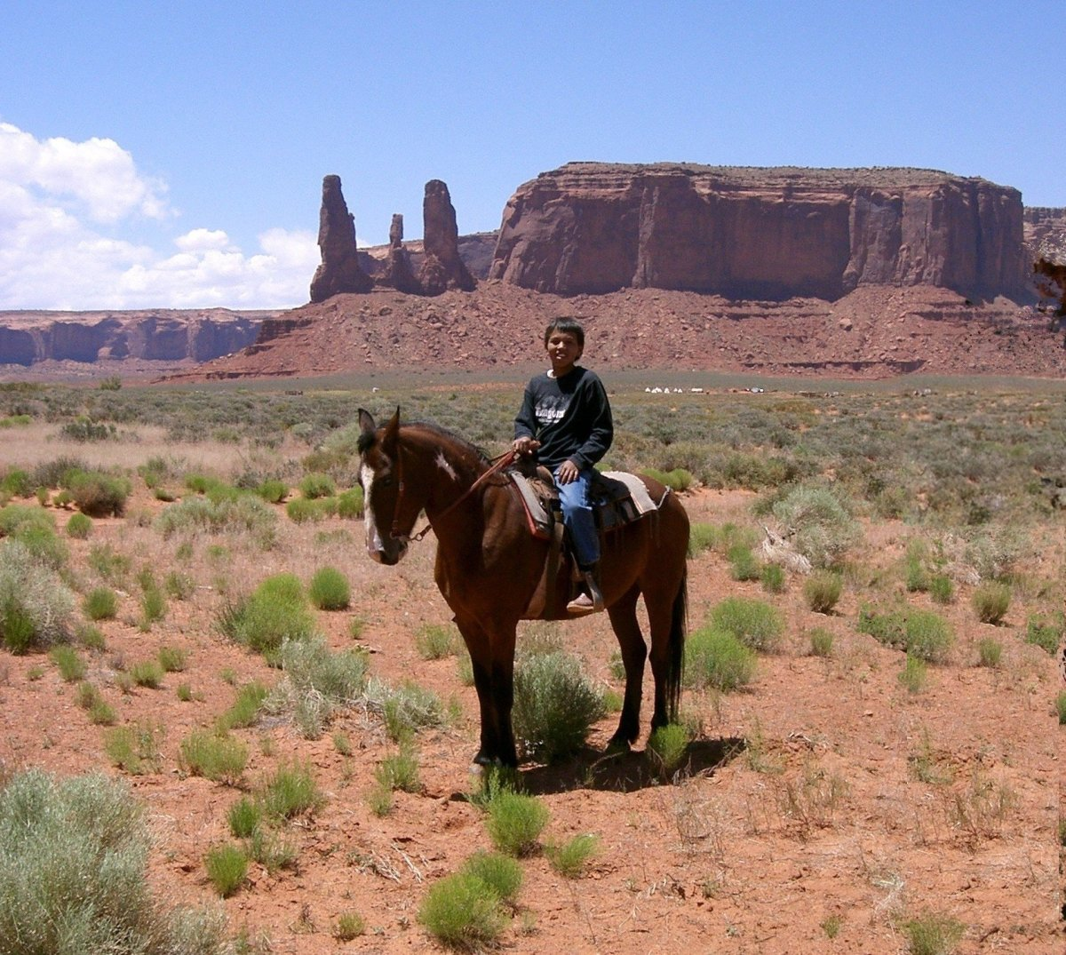 Navajo Boy in Monument Valley, Arizona, 2007