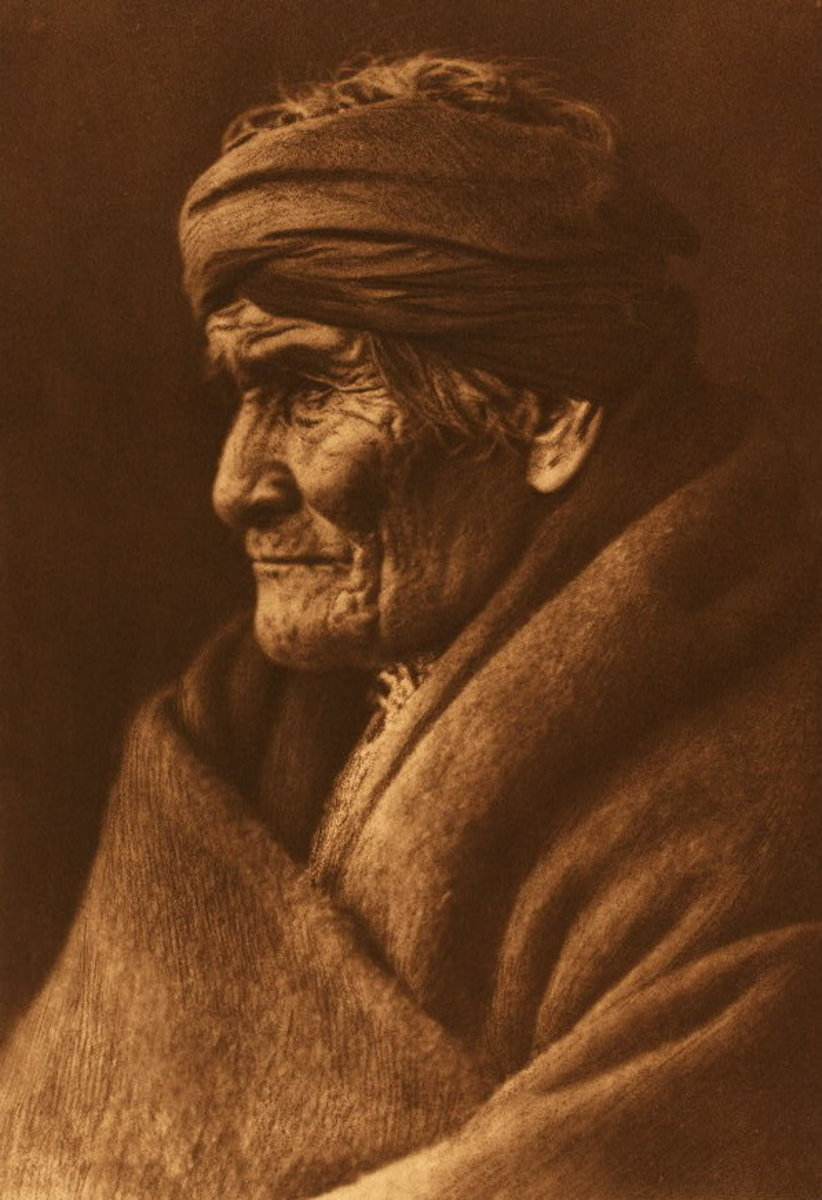 Geronimo, an Edward S. Curtis photo