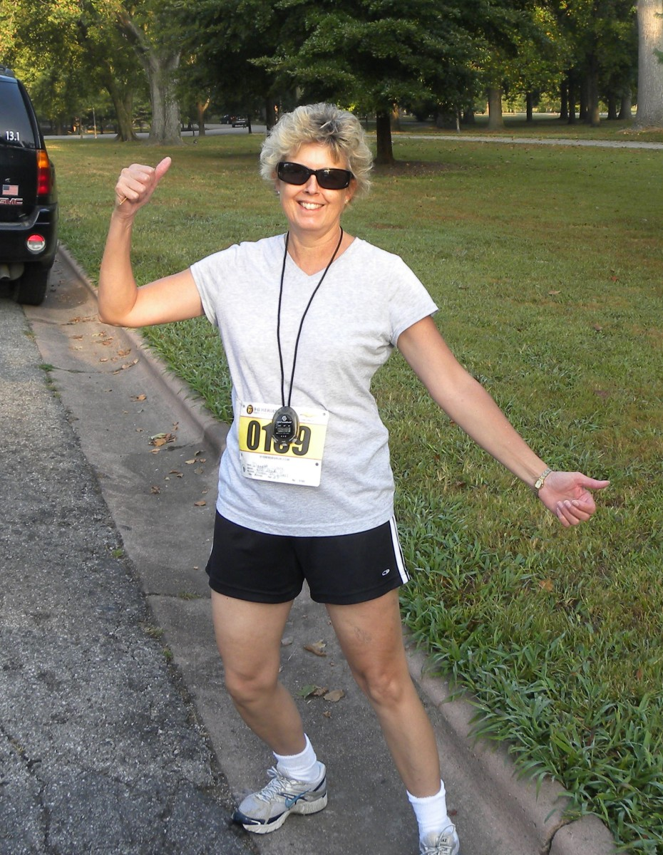 Hubber: Danette Watt in the St.Louis 5K on 9/11