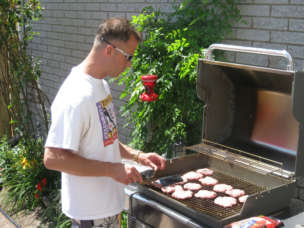 Have a chef available to handle the BBQ