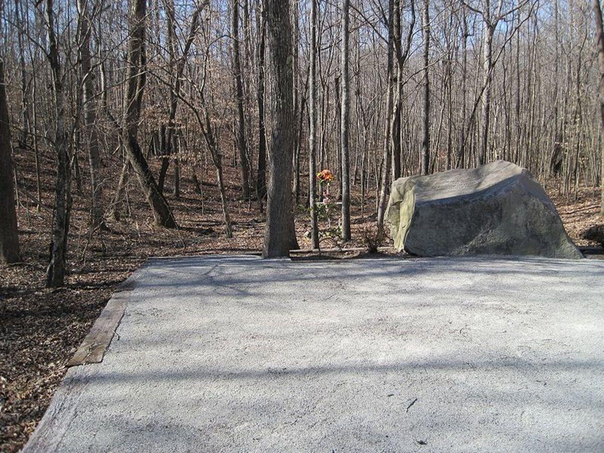Patsy Cline Memorial near Camdn TN