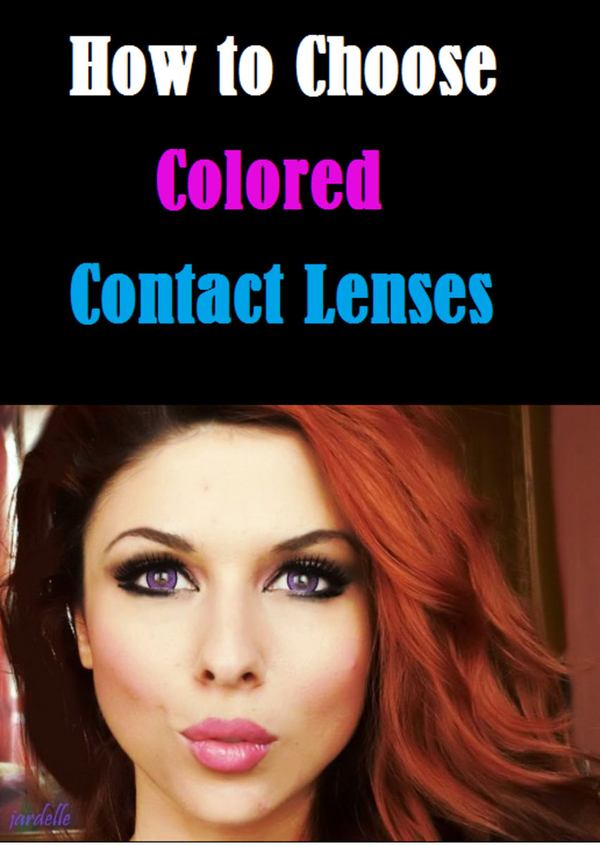 How to Choose Colored contact lenses