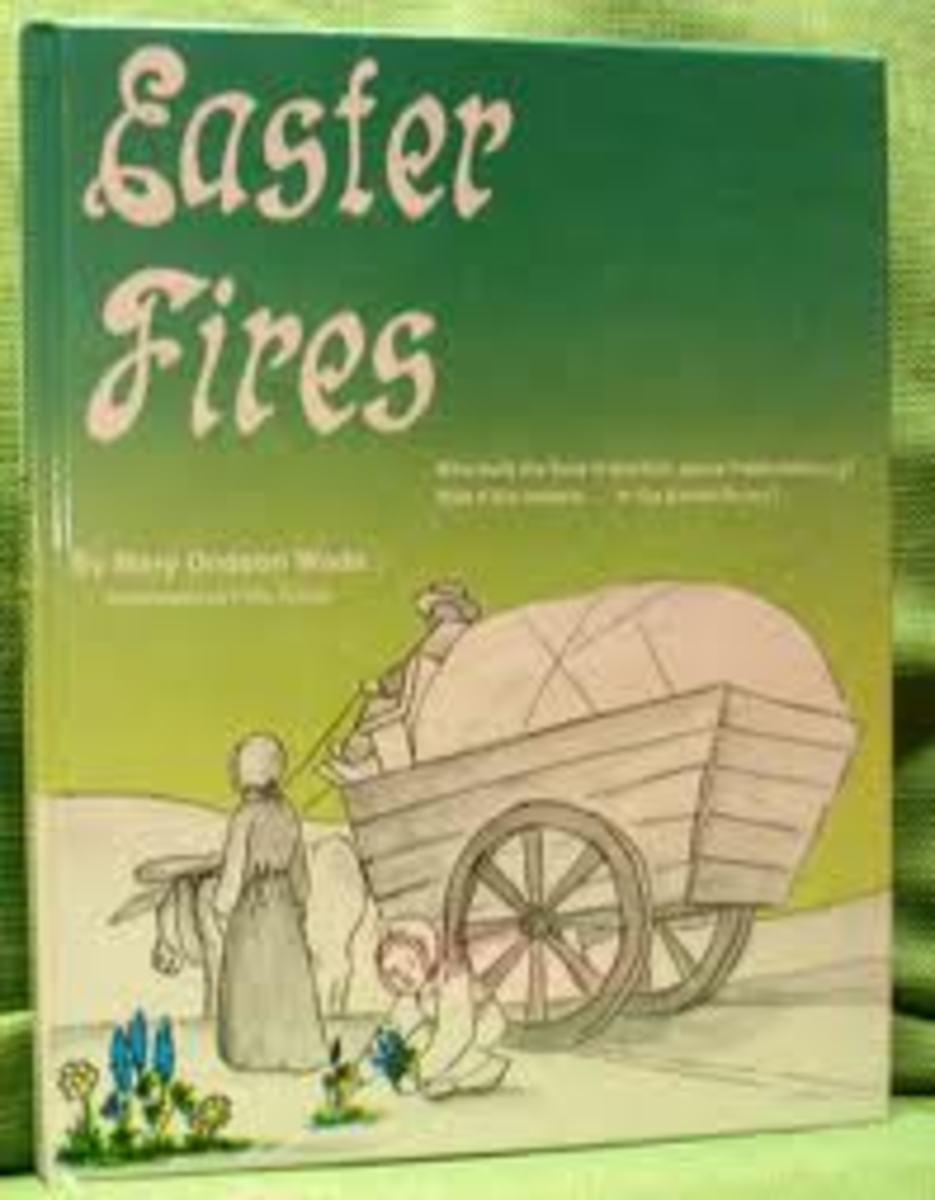 Pioneers in Fredericksburg Texas created a legend about Indian fires in the surrounding hills.
