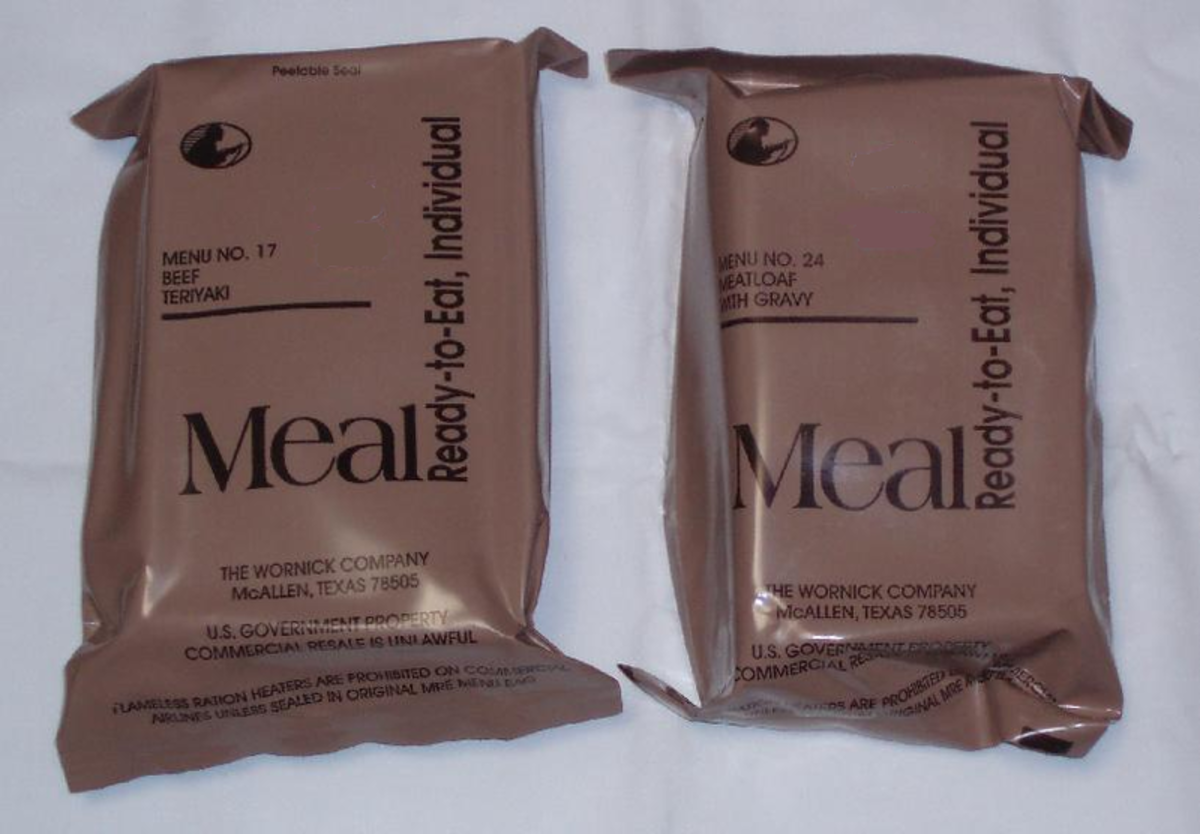 MRE , Meals Ready To Eat