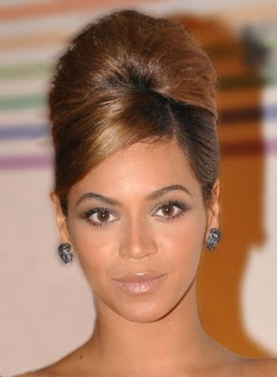 Beyonce Beehive Hairstyle