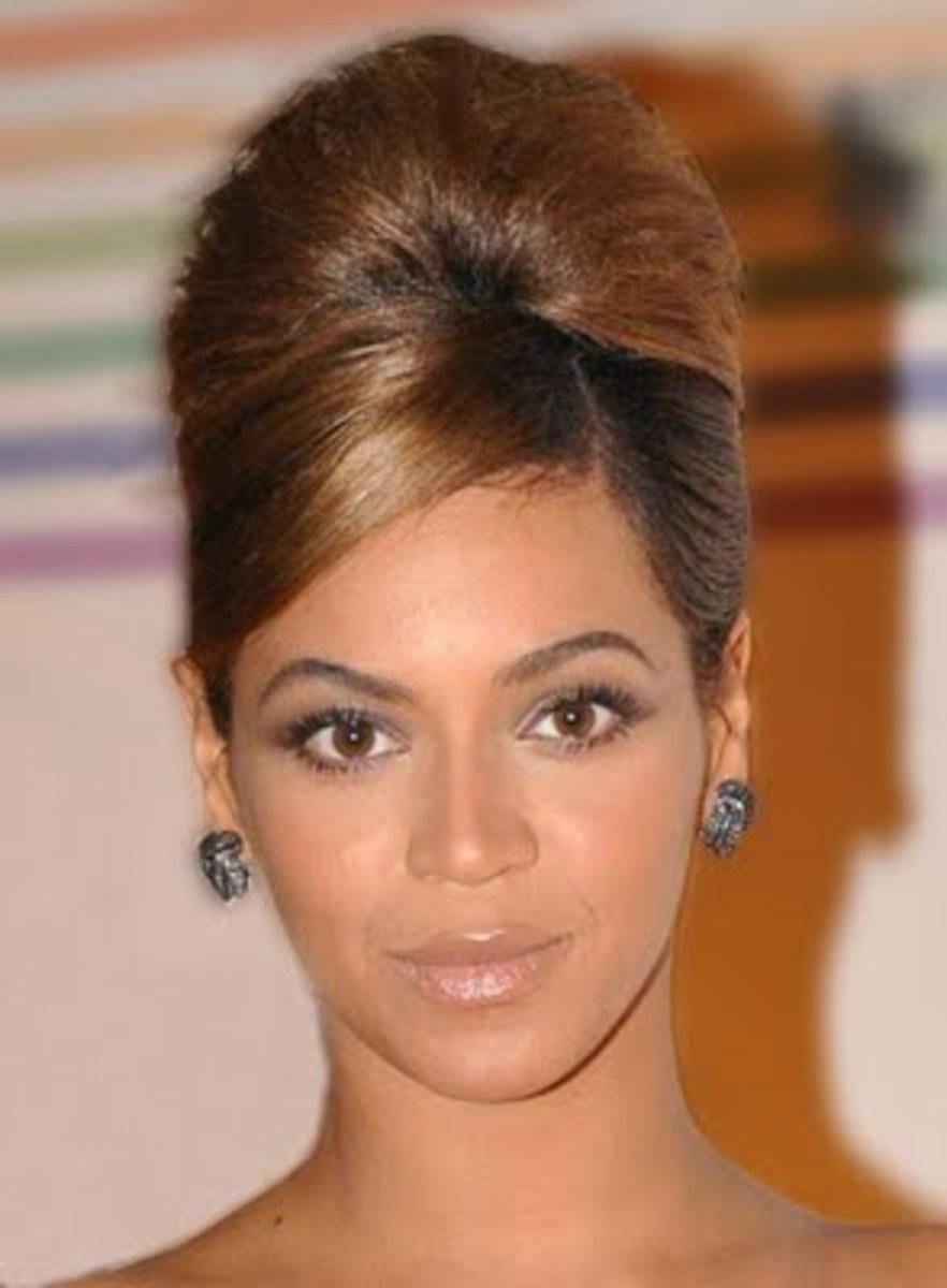 Beyonce Beehive Hairstyle
