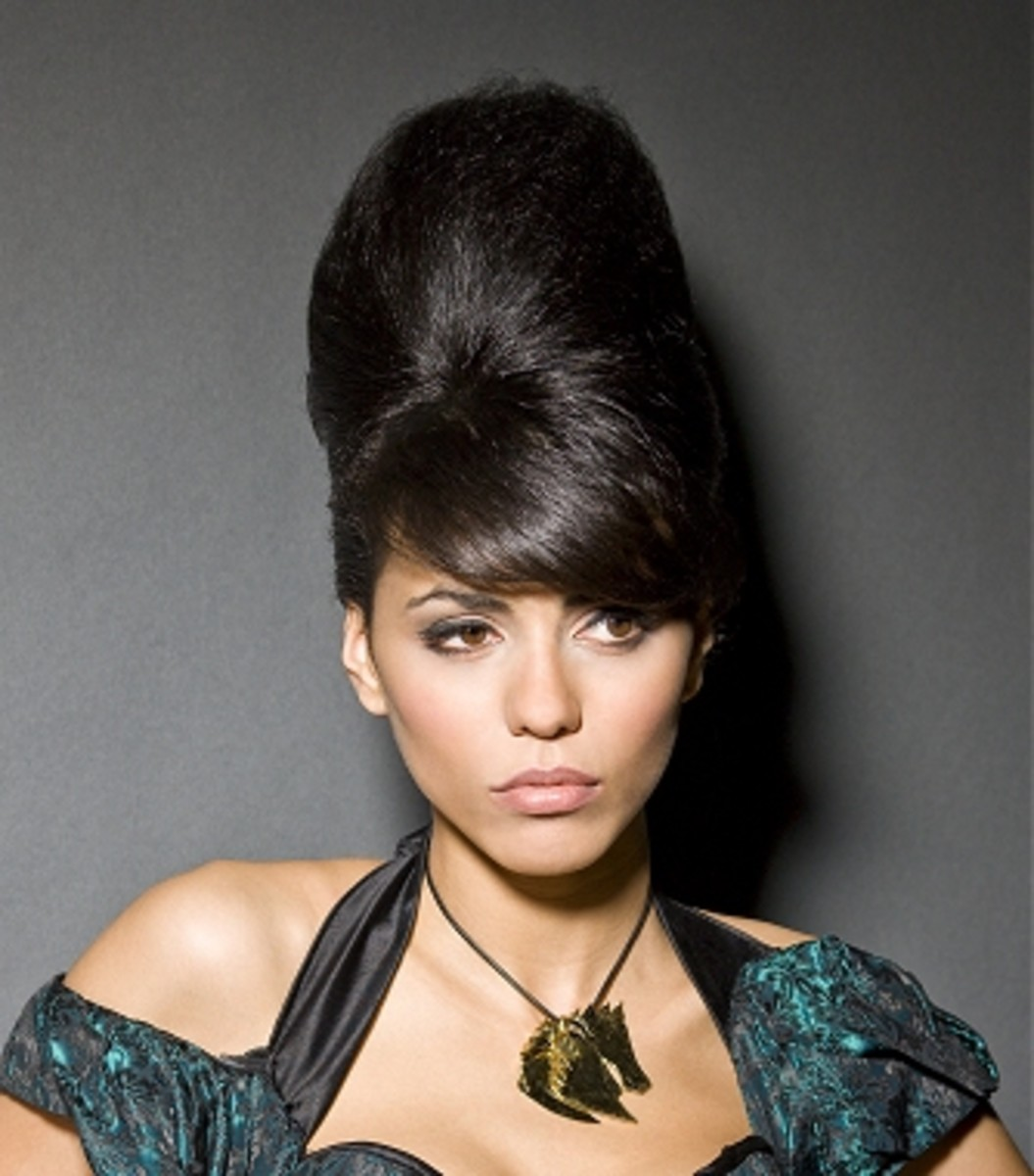 Beehive Hairstyle Terence Paul