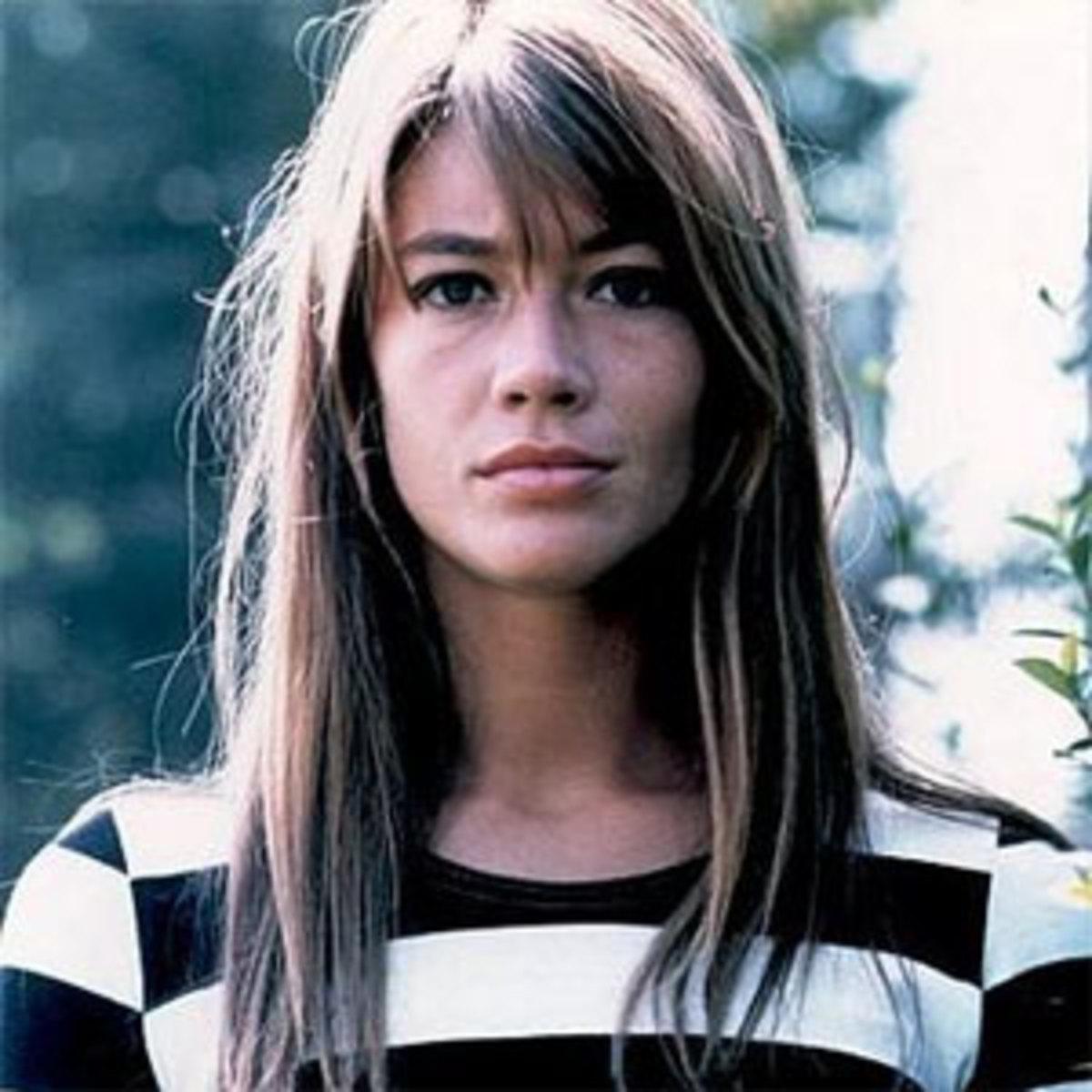 1970s French Artist Françoise Hardy