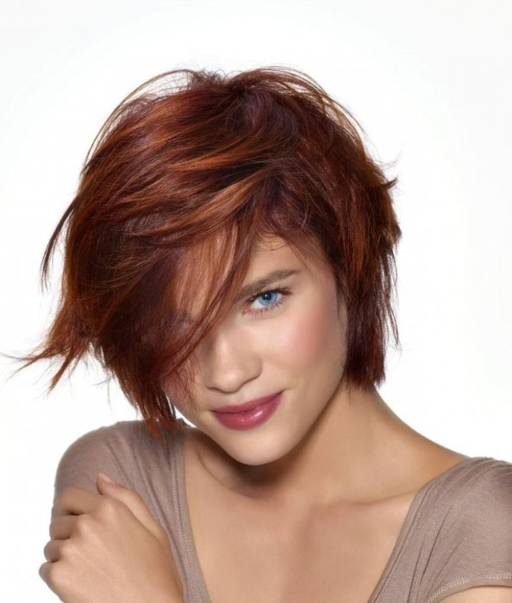 80's Short Hairstyle by St. Algue