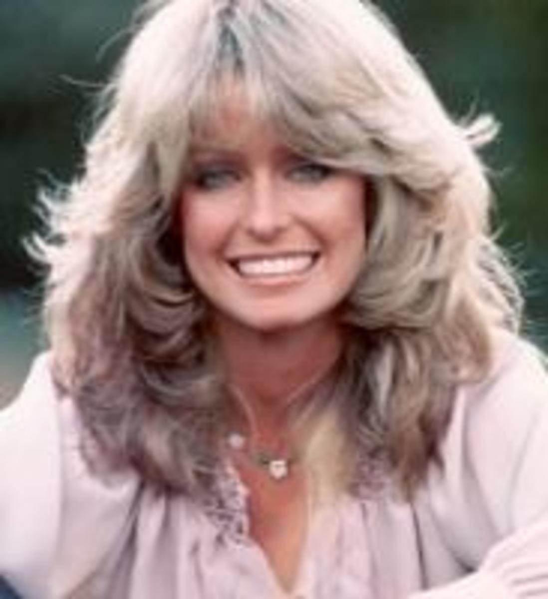 1970s Farrah Fawcett