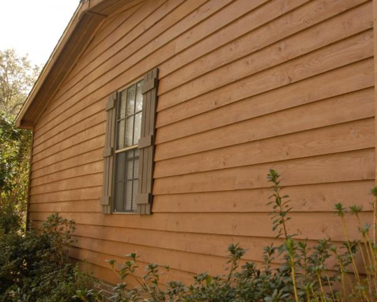 Exterior Cedar Siding Stain Colors Did You Stain Or Treat The Clear Cedar Siding To Get This