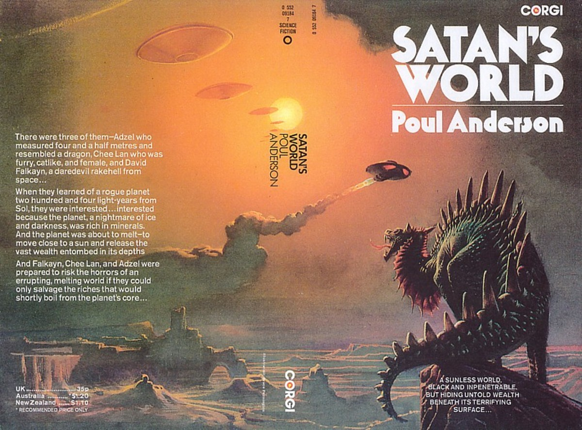 Satan's World - art by Bruce Pennington
