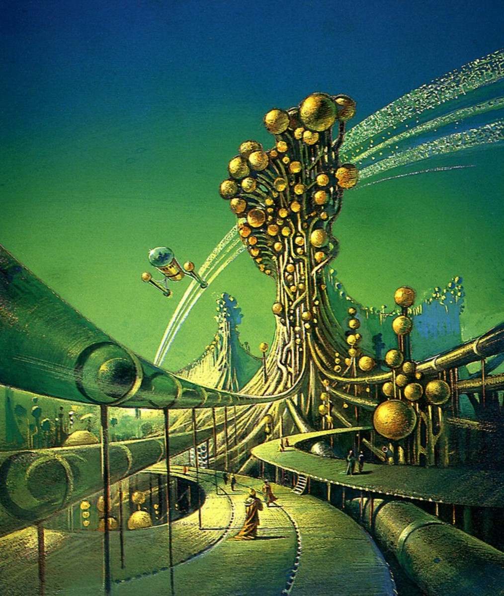 The Canopy of Time - art by Bruce Pennington