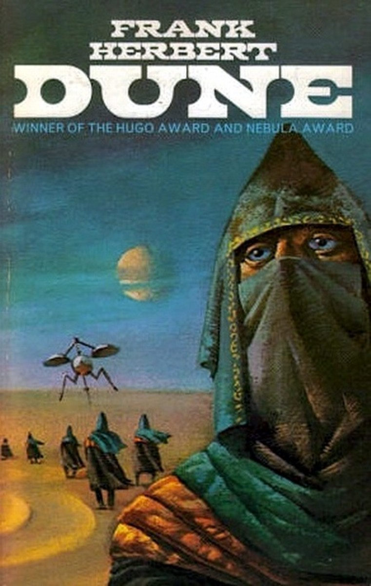 Dune - art by Bruce Pennington