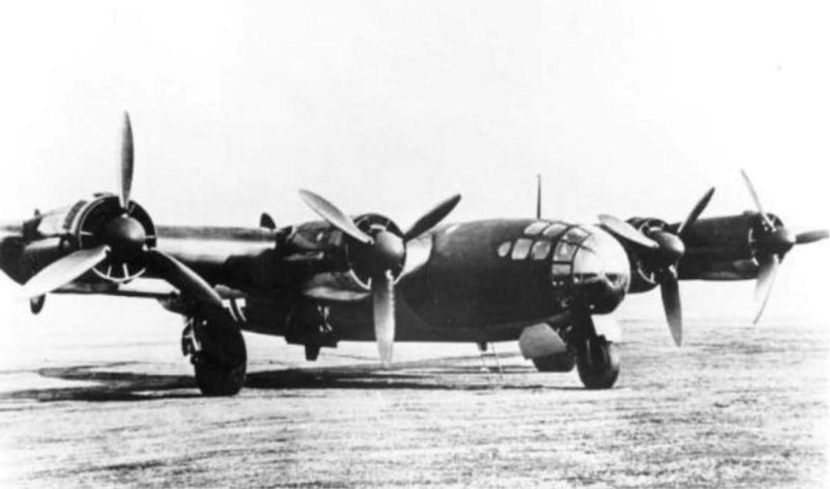 Amerika-Bomber ME264 first flew December 1942