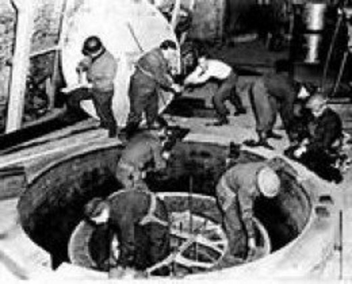 Nazi atomic pile