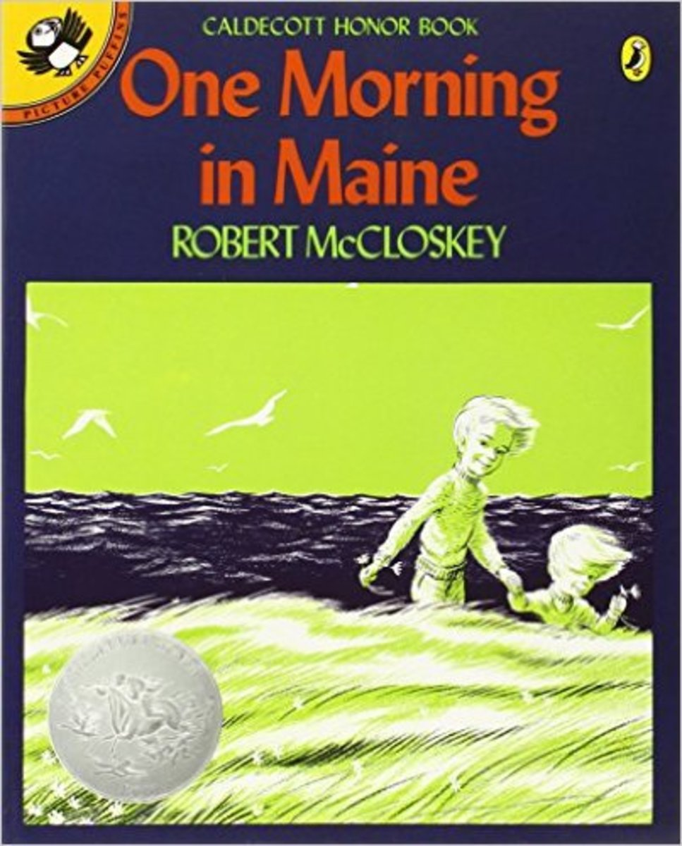 One Morning in Maine (Picture Puffins) by Robert McCloskey - Book images are from amazon.com.