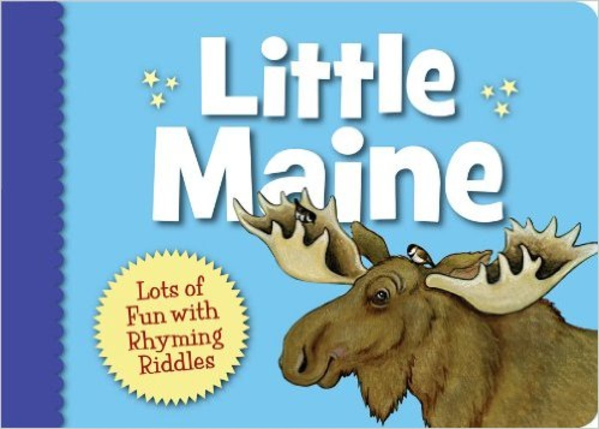 Little Maine (Little State) Board book by Jeannie Brett