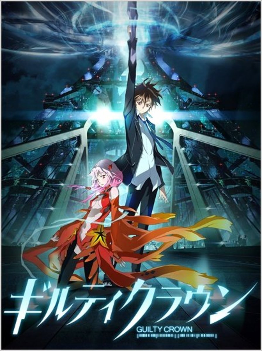 Guilty Crown: The Fast Food of Anime