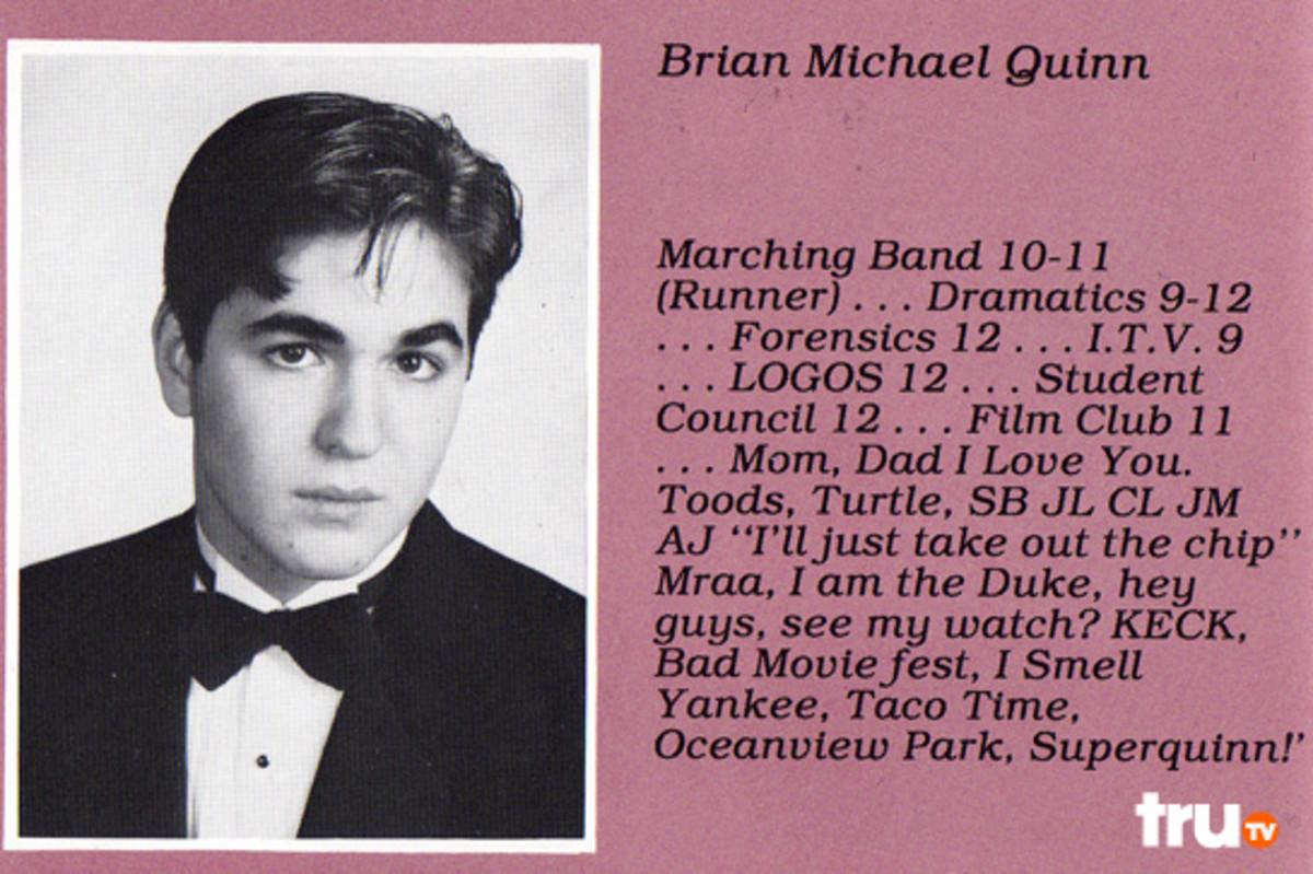 Tru Tv's Old Impractical Joker, Brian Quinn (Q); the HOT one.: skarlet.hubpages.com/hub/Impractical-Joker-Brian-Q-Quinn
