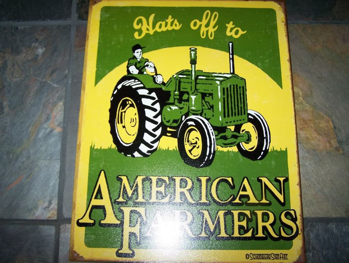 Hats Off To American Farmers