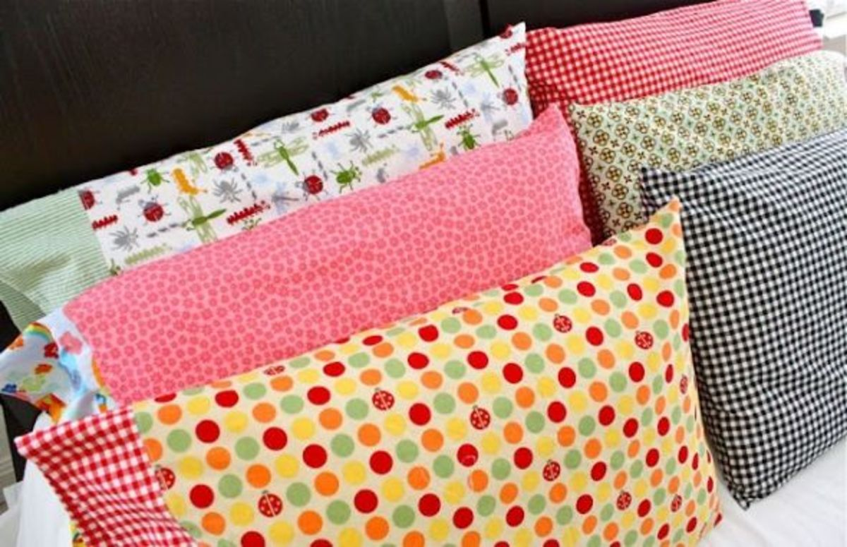 Simple Sewing Projects - Basic Pillowcases