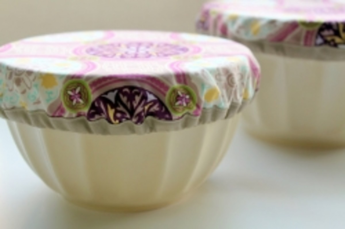 Simple Sewing Projects - Potluck Bowl Covers