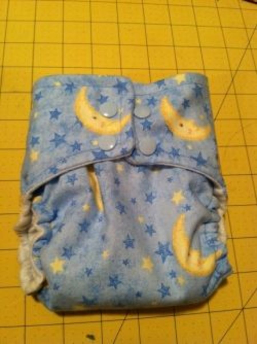 Finished diaper!
