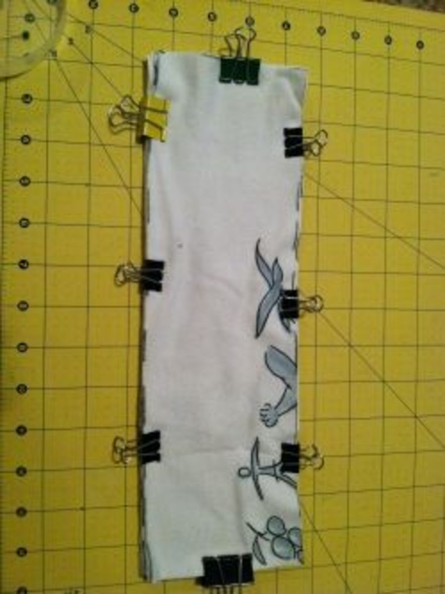 Stack soaker layers and binder clip them together.