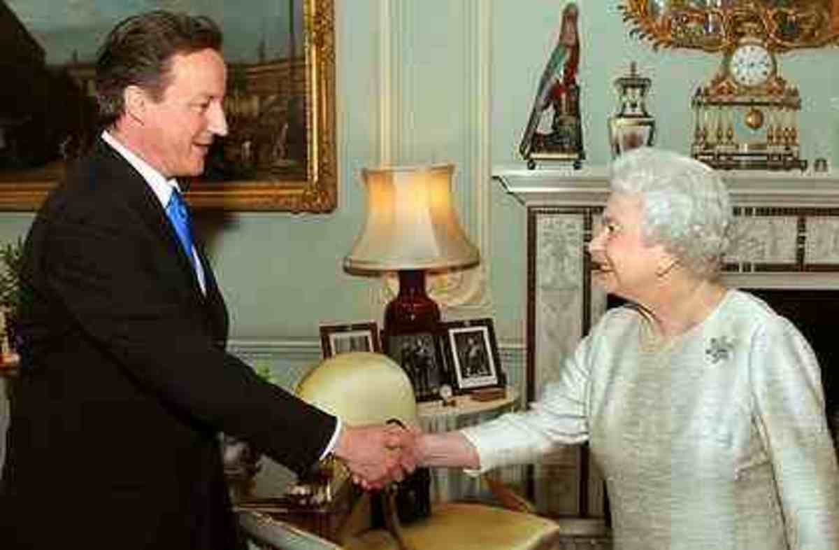 The Queen meets the British Prime Minister Public Domain