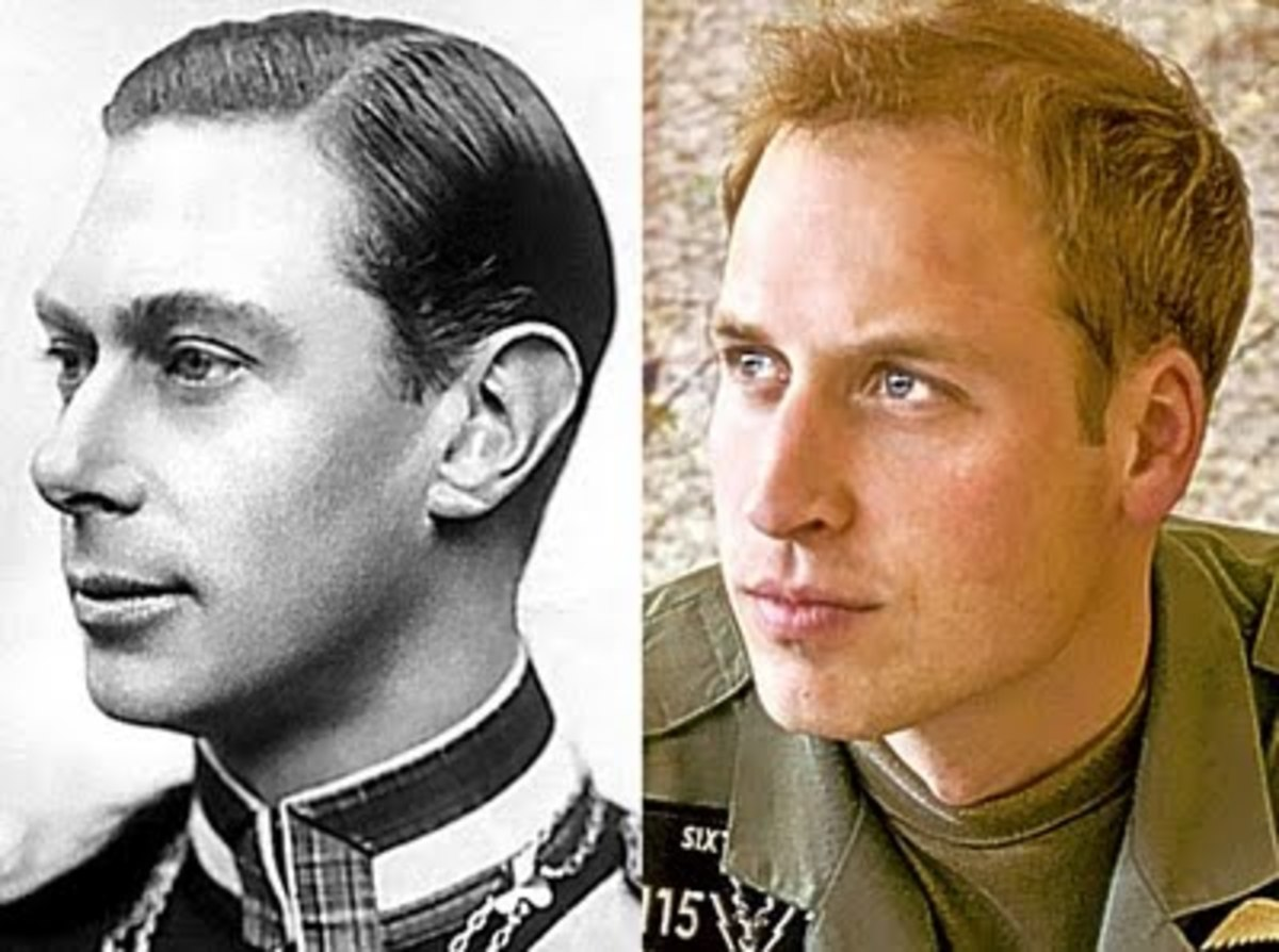 King George VI the Queens Father Looks Very Much Like His Great Grandson William.